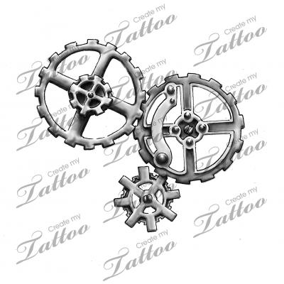Marketplace Tattoo Gear Design 14951 Createmytattoo Com