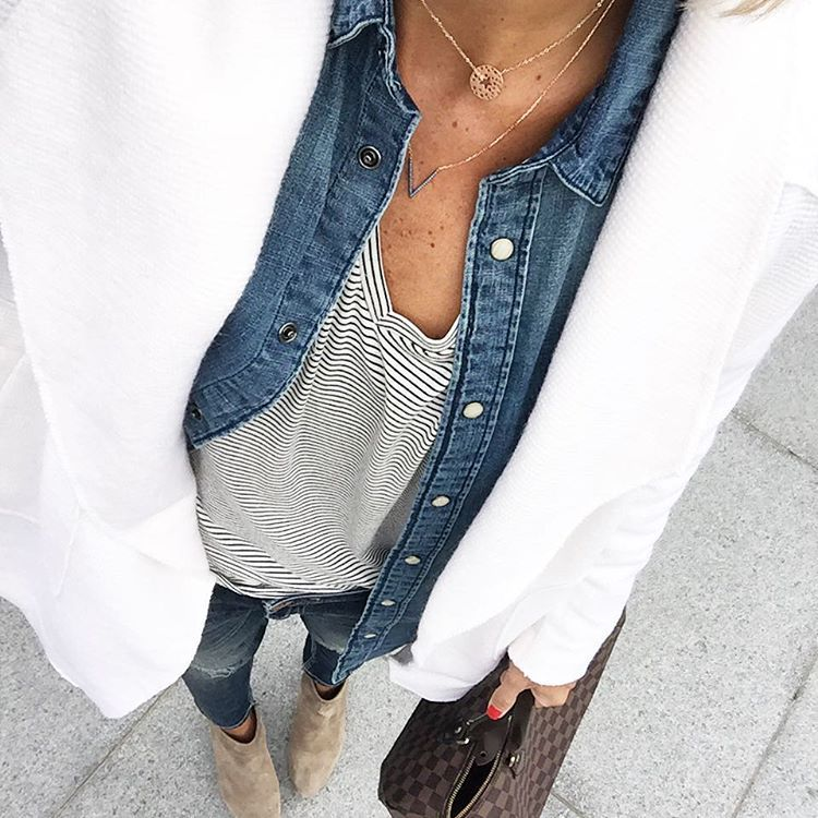 Ce matin il y avait du soleil ... J'ai dû le faire fuir avec mon manteau blanc  #outfitpost #lookoftheday #todayimwearing #totallook#metoday  #stradivarius #primark #zara#zarajeans #sacha#sachashoes#louisvuitton#speedy35#zag#mainpunkt  #igstyle #igfashion#fashionstyle#fashionista#stylish #stylepost#styleoftheday #streetlook#streetstyle#streetfashion