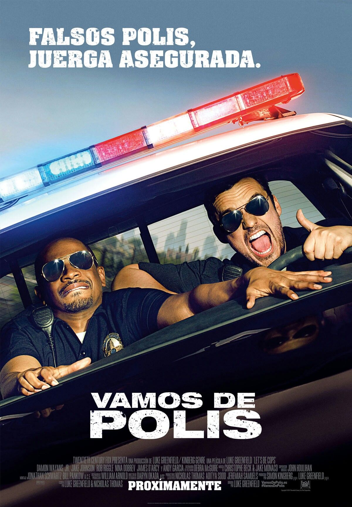 Vamos De Polis 2014 Lets Be Cops Cops Good Comedy Movies