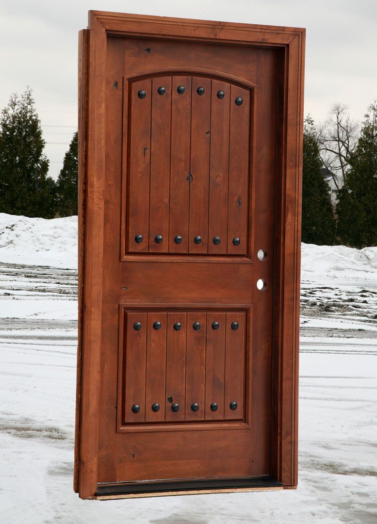 Rustic · Arched Single Entry Doors ...