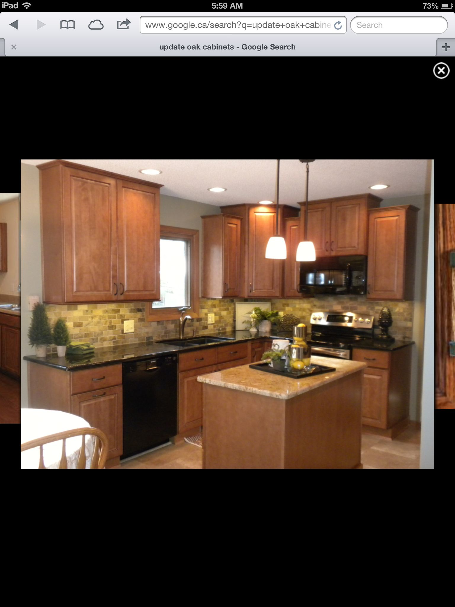 Update Light Oak Cabinets Decorating Pinterest Light