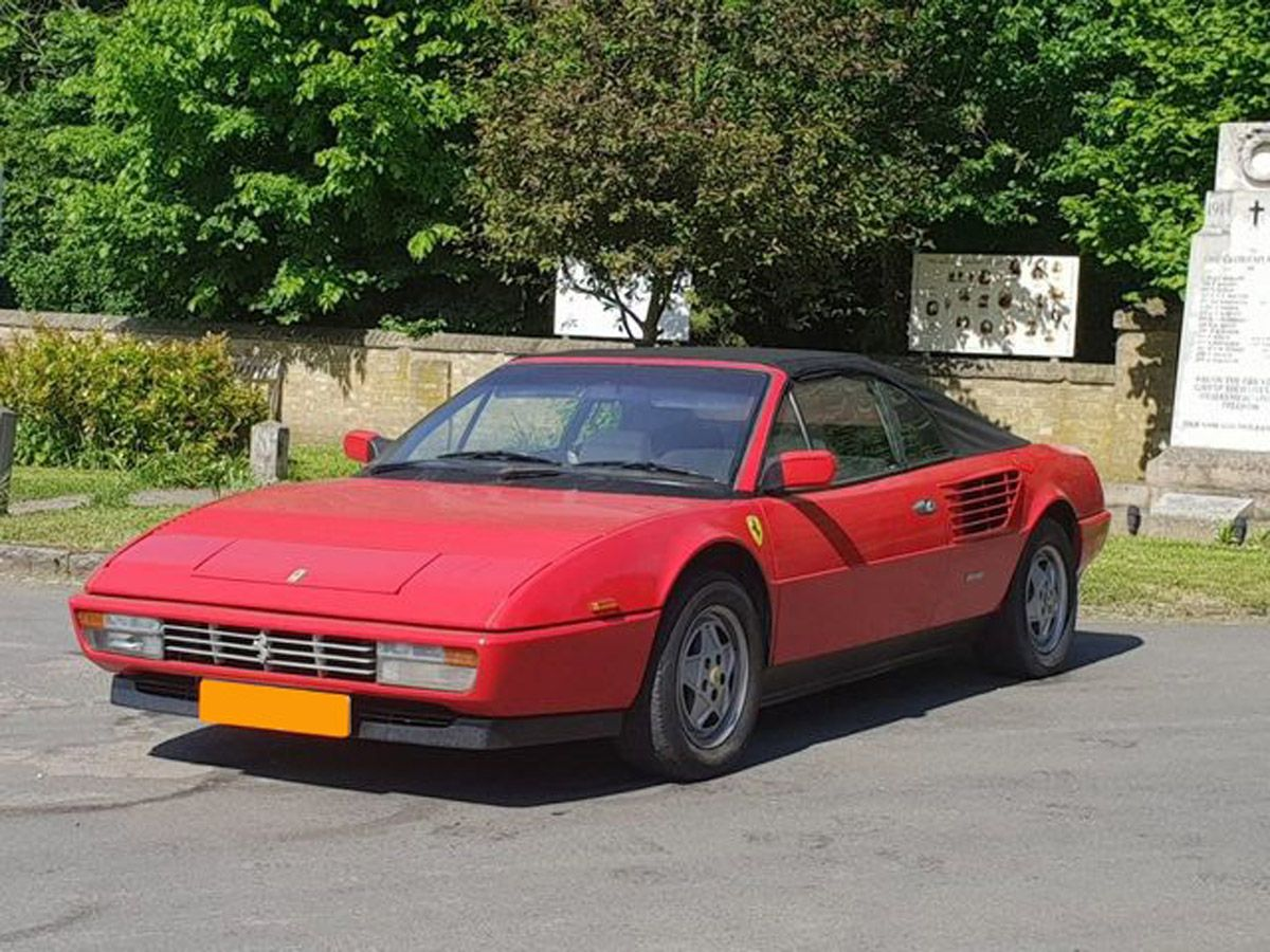 The Trade Archive Mad On Collections Ferrari Mondial Cabriolets Ferrari