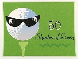 Golf Notecards And Stationery On Ladies World