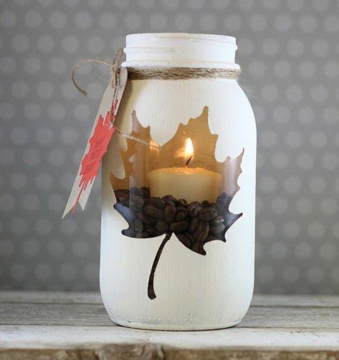 Handarbeit für Erwachsene, DIY-Herbst zum Selbermachen, Kerze Dekorativ … #diyundselbermachen