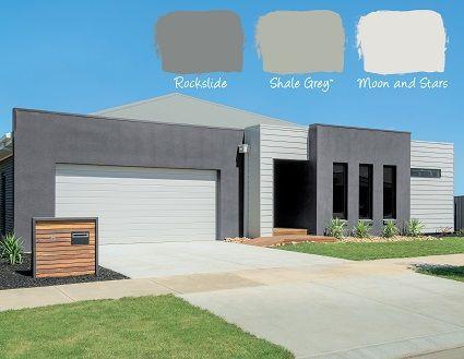 Best Urban Style House Exterior Color Schemes Grey Exterior 400 x 300
