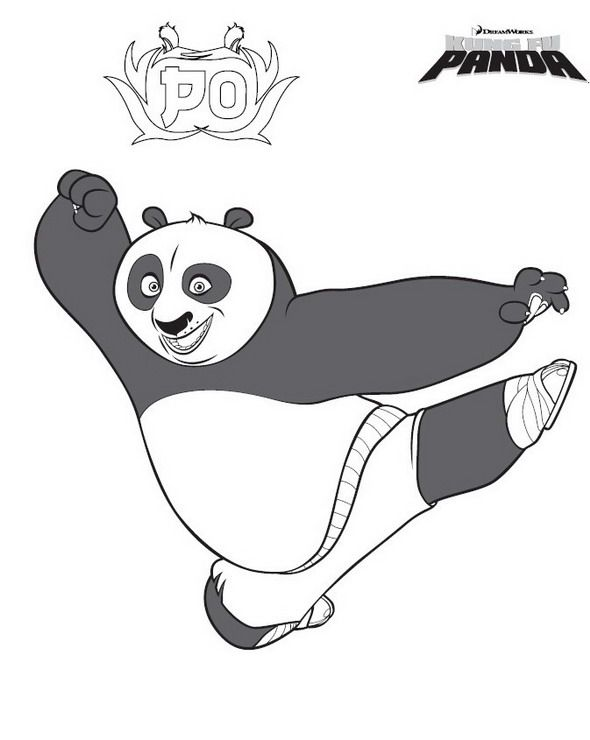 25+ Supercoloring kung fu panda info
