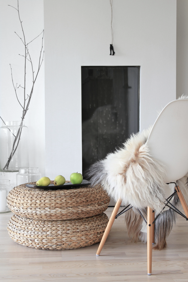 Love the way Scandinavian style can create warmth and