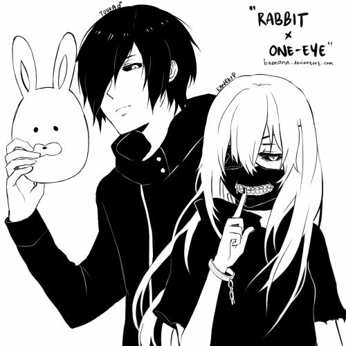 [Tokyo Ghoul] Kaneki & Touka Genderbend -Love it ❥ girl Kaneki is so pretty!