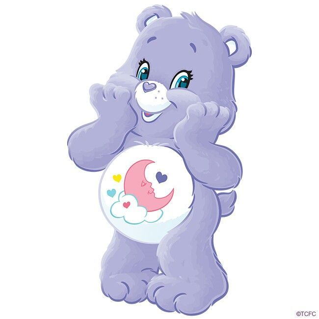 Sweet Dreams Bear Species Care Bear Home Care A Lot Gender Female Debut 2006 Fur Color Light Purpl Care Bear Tattoos Care Bears Cousins Care Bear Birthday