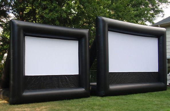 Rent One Of Our Inflatable Movie Screens And Host An Outdoor Movie Event.  Great For Outdoor Movies, Video Game Parties And Sporting Events.