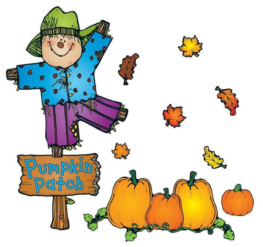 Carson Dellosa Pumpkin Patch Bulletin Board Set