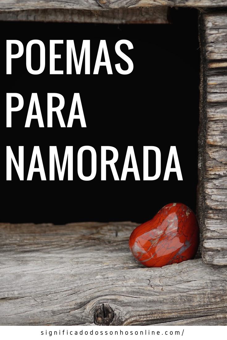 Os Melhores Poemas Para Namorada Surpreenda Com Lindas Palavras