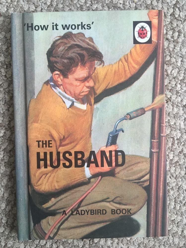 Ladybird book how it works the husband new wedding gift