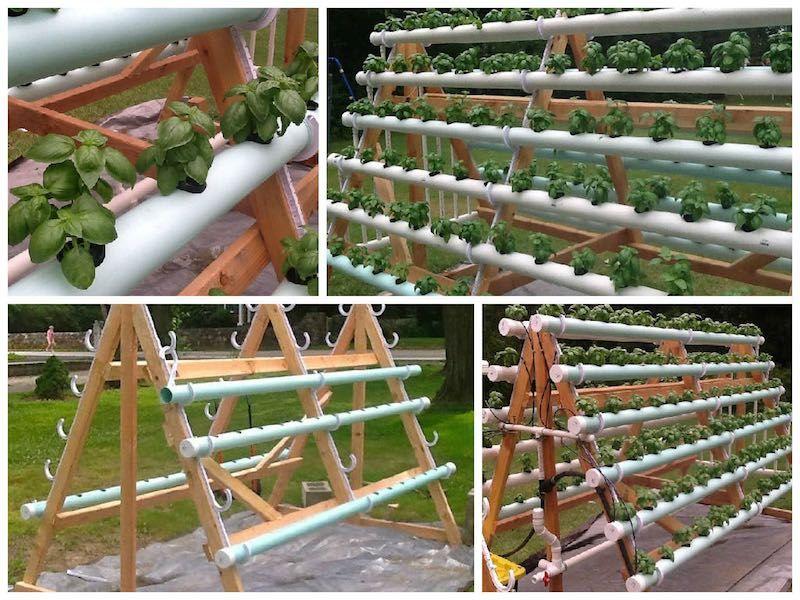 cmo construir un sistema hidropnico vertical casero de plantas una manera inteligente de cultivar