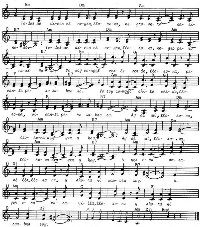 Besame Mucho Lyrics Sheet Music: Sheet Music