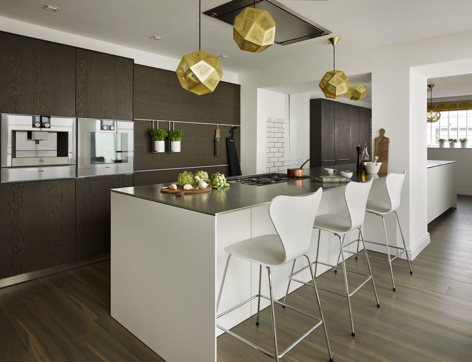 Best High End Contemporary Kitchen White Kitchen Island With 400 x 300