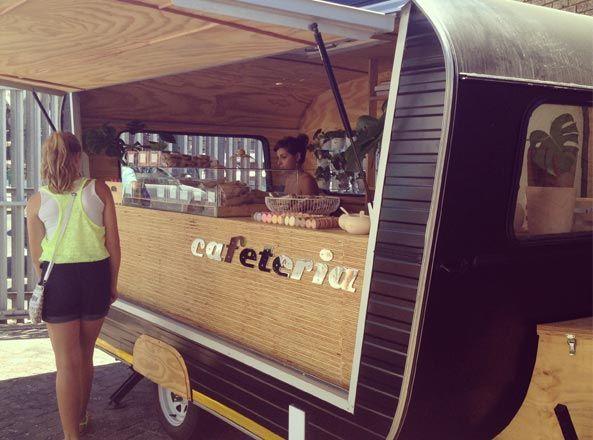 Cafeteria Trailer Food Truck Food Vans Retro Recipes