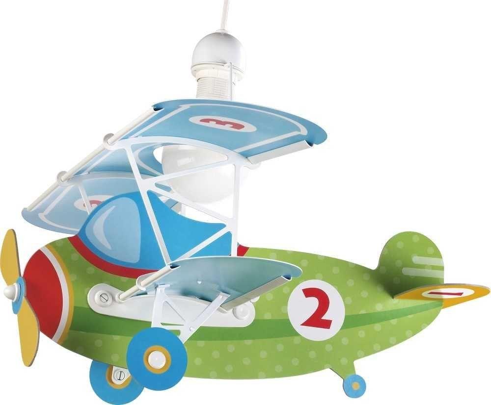 ✈ Pilotenzimmer: LED Deckenlampe im Flugzeug Design - Kinderzimmer ...