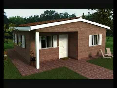 casas baratas Casas, Casas modernas y Casa economica