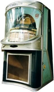 "1959 ""Panoramic"" Jukebox. Learn about your collectibles, antiques, valuables, and vintage items from licensed appraisers, auctioneers, and experts at BlueVault. Visit:  http://www.BlueVaultSecure.com/roadshow-events.php"