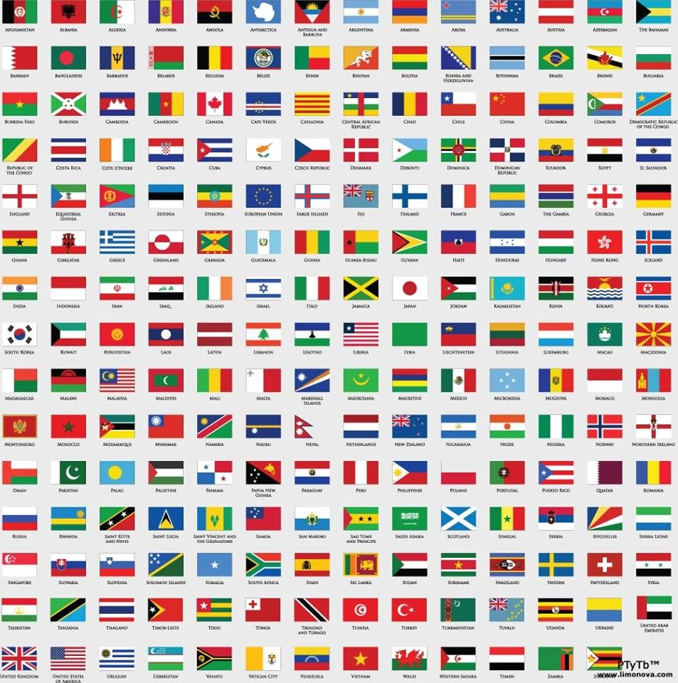 Travel: Worldview / a world of flags...
