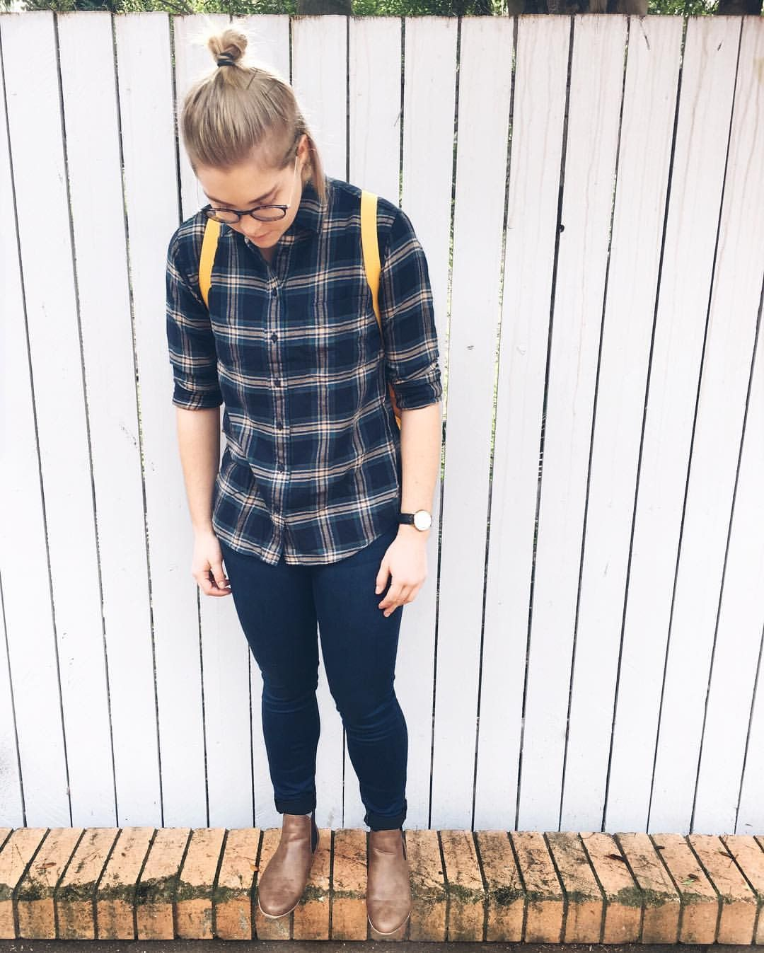 Flannel with jeans and boots  Uniqlo flannel  Riders by Lee jeans  Novo boots  Me  FASHION