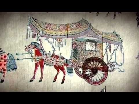 Chinese shadow puppetry - YouTube