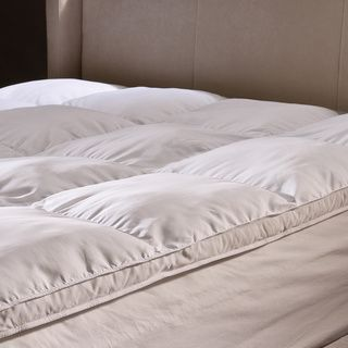 Pillow Top Mattress Covers Prepossessing Damask Stripe Pillowtop 500 Thread Count Mattress Pad  Overstock
