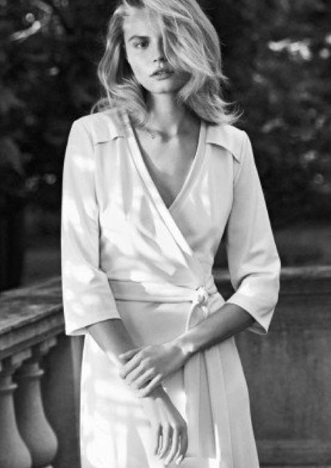 Magdalena Frackowiak for Filippa K Spring 2014 Campaign _