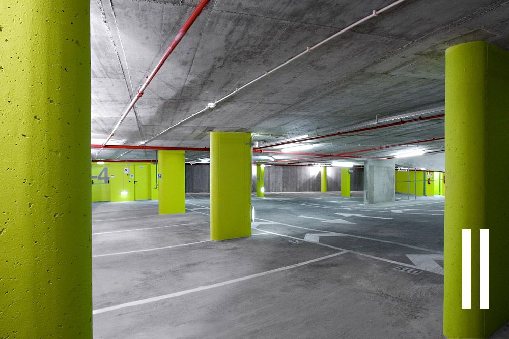 Parking garage parking parking pinterest for Garajes subterraneos