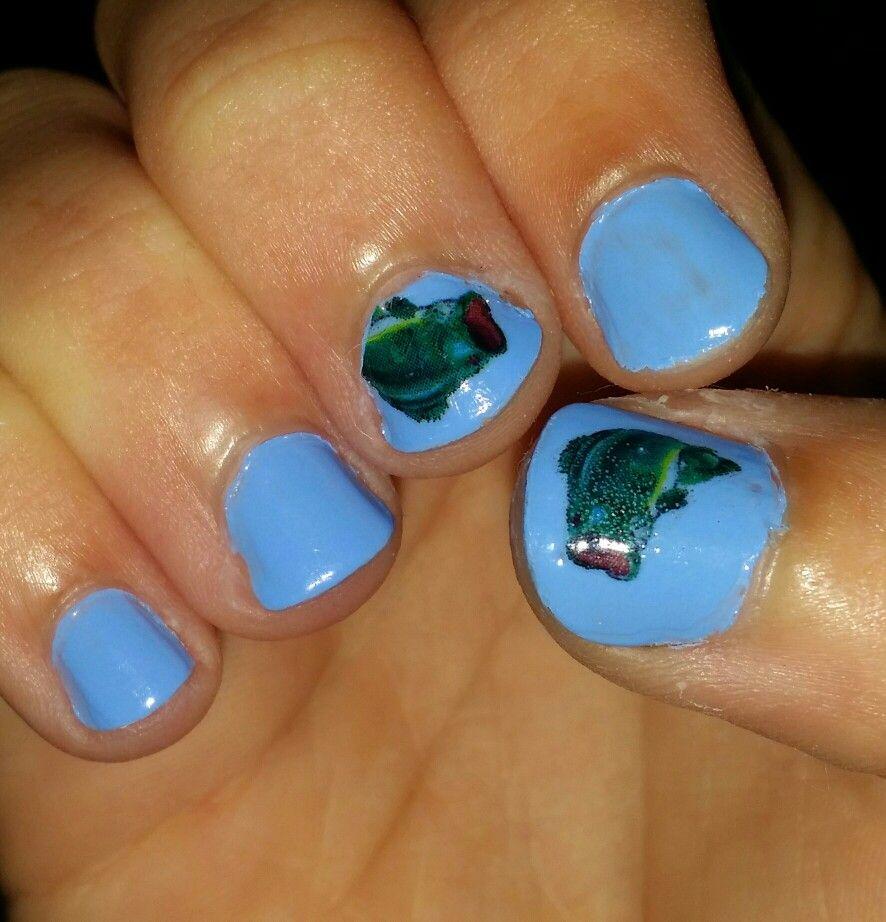 Bass nails from country nail decals | fishing nail art | Pinterest ...