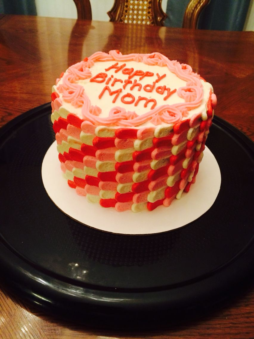 Cool Pulled Dot Birthday Cake By Beautiful Bakes Custom Cakes Buffalo Funny Birthday Cards Online Necthendildamsfinfo