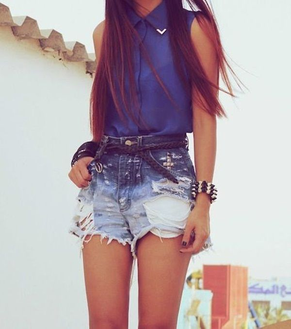 12 Cool Summer Casual Outfits for Teenage Girls Caz Jones It's almost time for school to finish and you girls can enjoy flaunting your favorite outfits whether you are partying at the beach or hanging out with your friends at Starbucks.