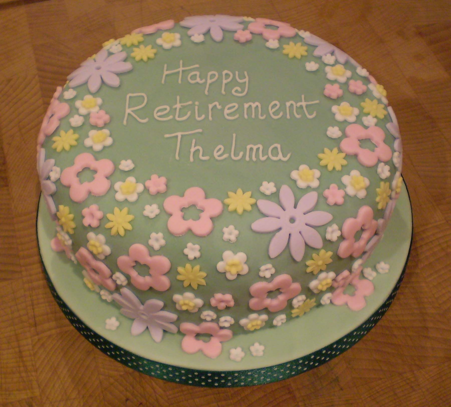 Retirement Cake Ideas For Women