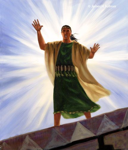 Samuel The Lamanite With Images Lds Artwork Scripture Study