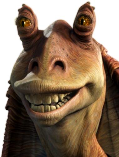 Jar Jar Binks Star Wars Characters Star Wars Tattoo Star Wars Universe