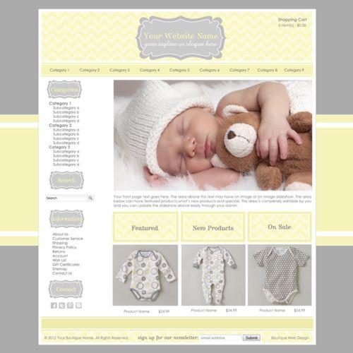 Boutique Web Design, Boutique Branding, E-commerce, Logo Design ...
