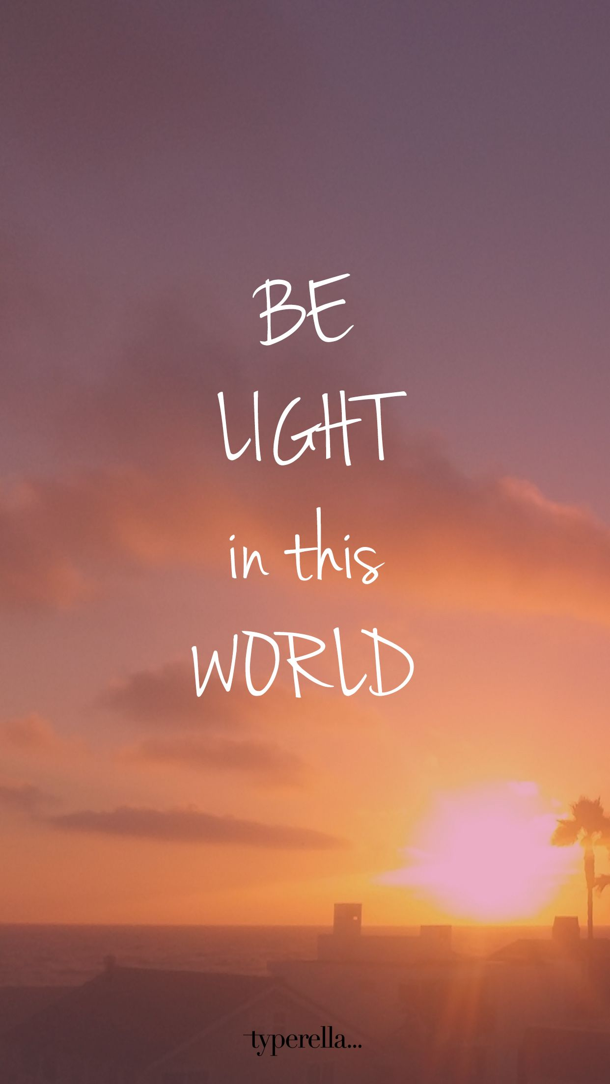 Be Light In This World Inspiring Wall Paper Christian Wallpaper