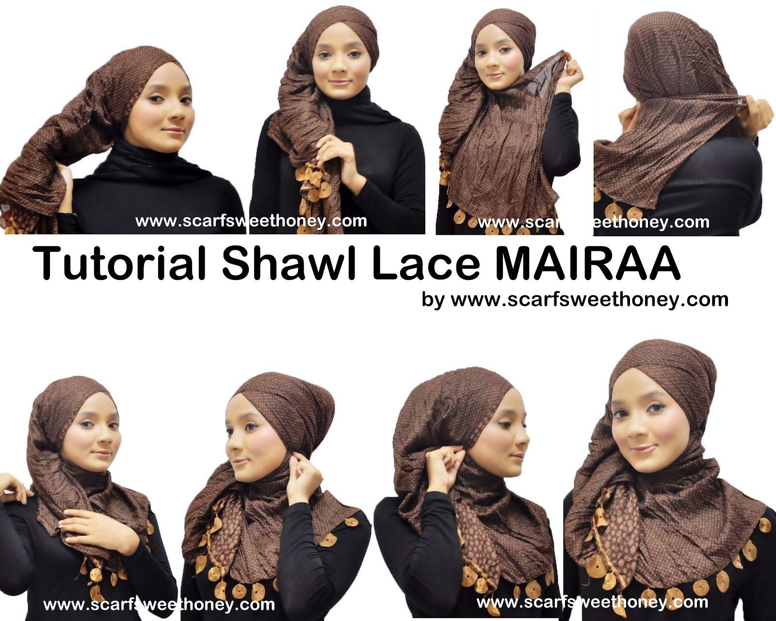 Hijab Tutorial Hijaaaaaaaaaab Pinterest Nvody Na Uvzn