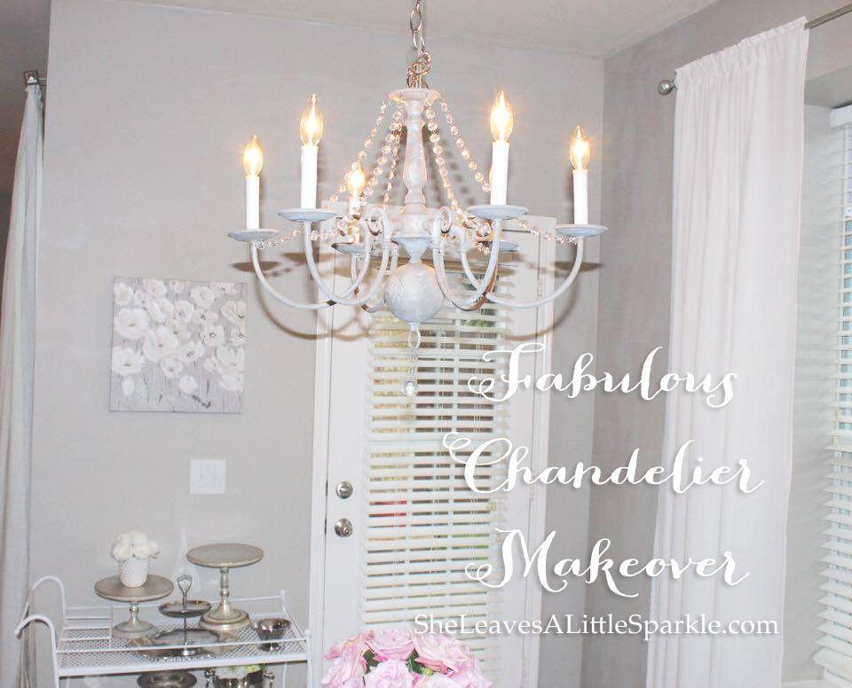 Fabulous chandelier makeover chandelier makeover chandeliers fabulous vintage chandelier makeover diy chalk paint chandelier dear lillie restoration hardware pottery barn chandelier mozeypictures Choice Image