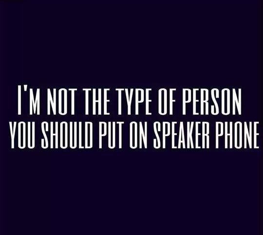 I M Not That Type Of Person Funniest Quotes Ever Funny Quotes Quotes