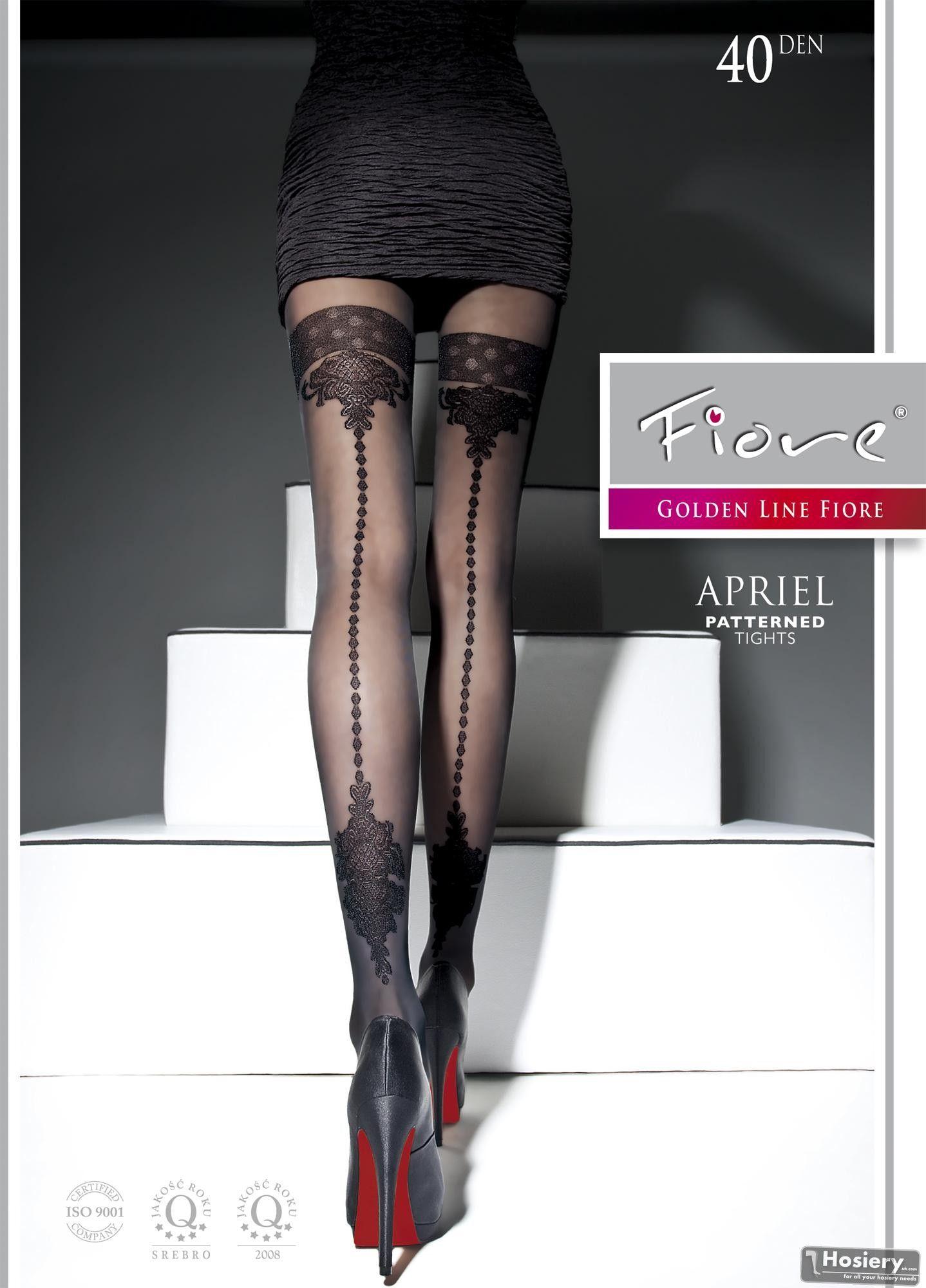 bestseller mock suspender stockings tights back seam. Black Bedroom Furniture Sets. Home Design Ideas