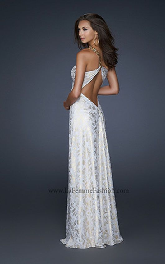 La Femme 17805 Prom Dress, La Femme Prom Dresses, www.madamebridal.com  Prom 2014