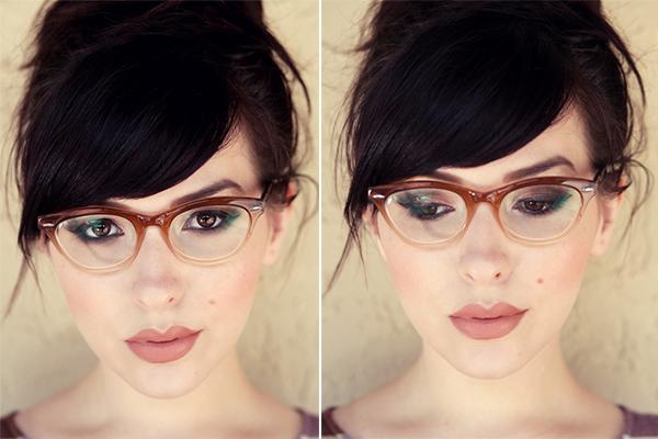 Ótima opção de make, pra quem usa óculos!