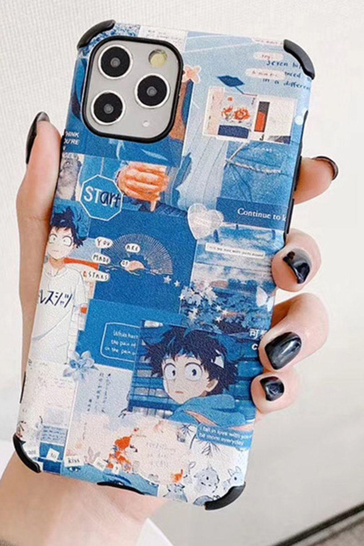 My Hero Academia Midoriya Soft Case iPhone 6 6s 6plus 7 8 Plus 11 pro X XS MAX XR