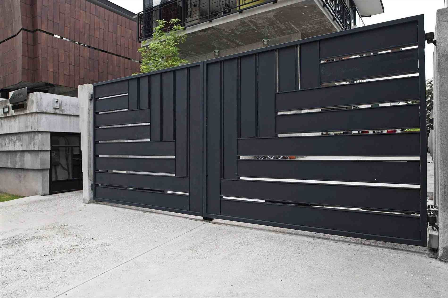 27d269c3ad36386e5ee5ed7a03ed1e63 - Get Attractive Modern Simple Gate Design For Small House PNG
