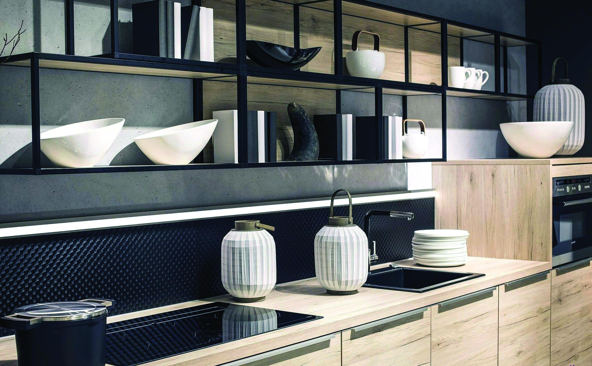 Tips For Spectacular Vintage Metal Kitchen Cabinets Craigslist Michigan Only In Miraliva Com Kitchen Shelf Design Modern Kitchen Open Kitchen Wall Shelves