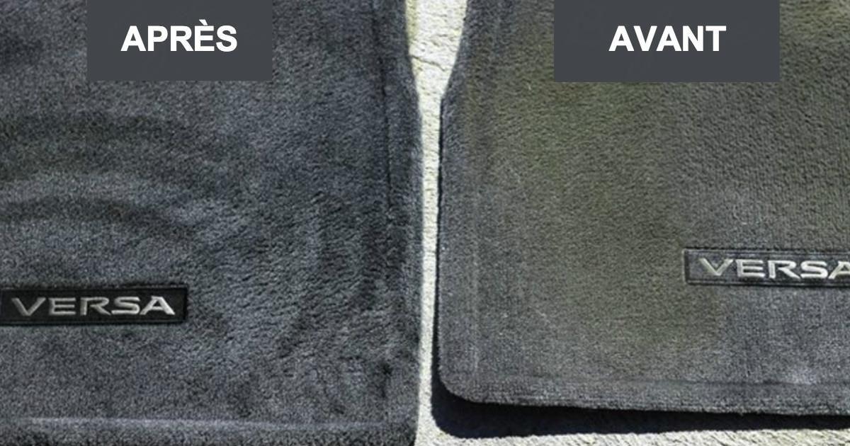 nettoyez les si ges et les tapis de voiture avec cette recette maison ils seront comme neufs. Black Bedroom Furniture Sets. Home Design Ideas