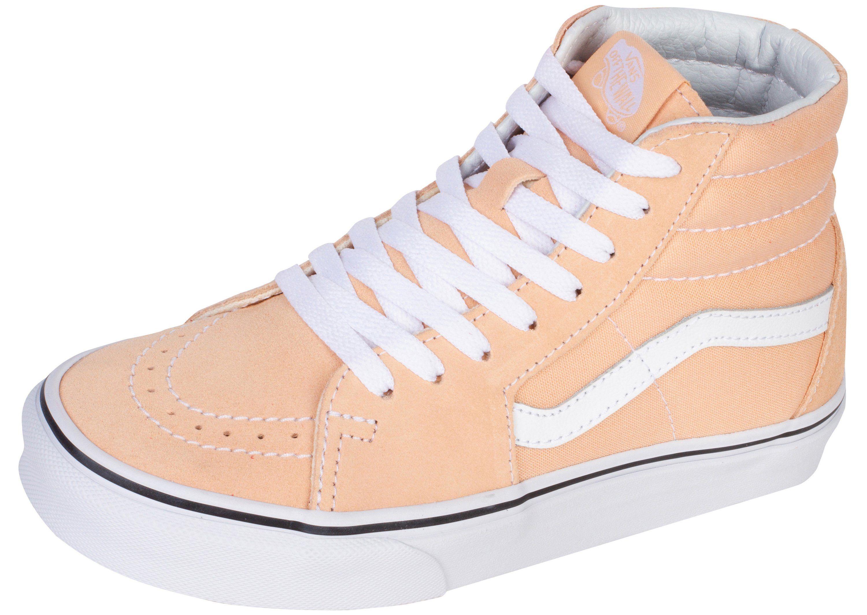 5358ed252d Vans Sk8 Hi Bleached Apricot True White