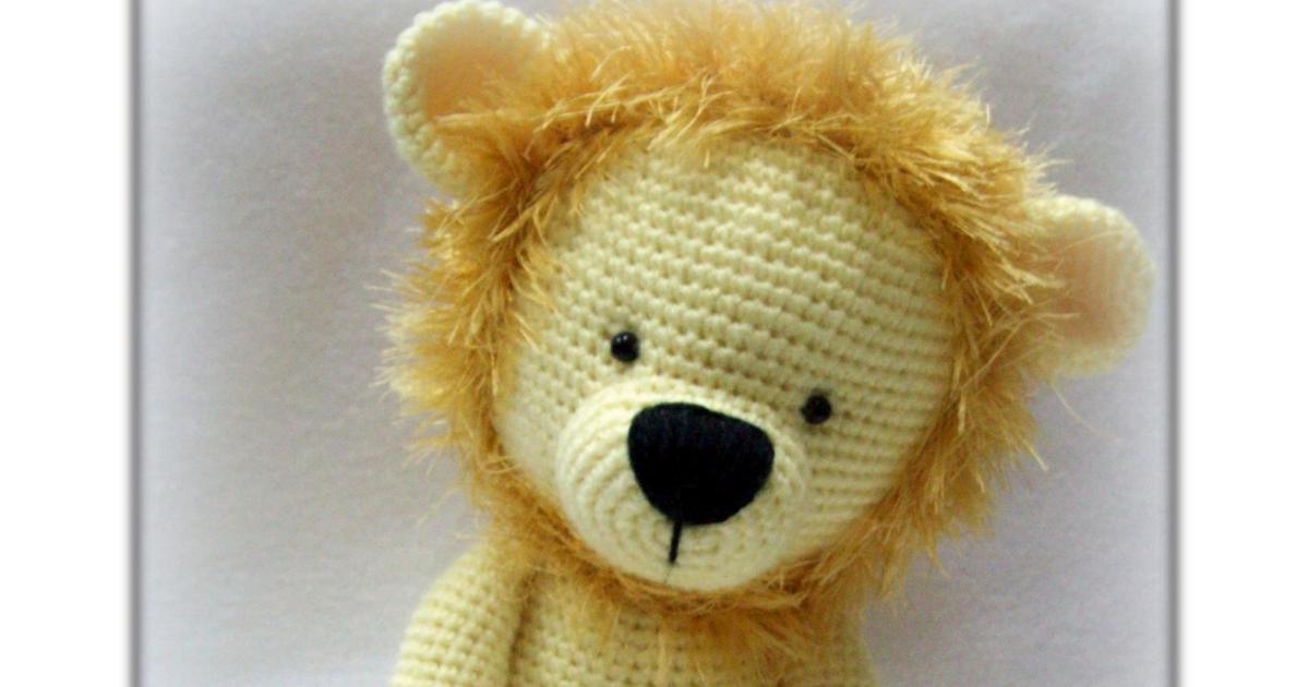 León Amigurumi Tutorial : Nolan el leÓn amigurumi tejidos thina.pdf muñecos tejidos